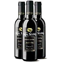Lote de 24 Botellines Botellas Vino Pata Negra Valdepeñas Gran Reserva 375ml - Vinos Baratos para
