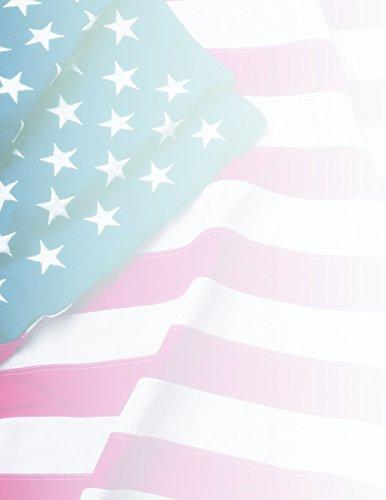 Geographics papel, diseño bandera, 24g, 22x 11cm, 100hojas por paquete (40437)