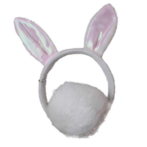 Islander Fashions Tierohren Stirnband und Schwanz Safari Kost�m Set Kids Adult Outfit (Rabbit Aliceband & Tail) (Rabbit Tail Kostüme)