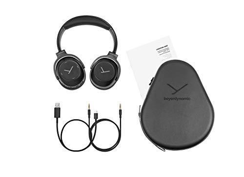beyerdynamic Lagoon ANC Traveller Bluetooth-Kopfhörer mit Active Noise Cancelling und Klang-Personalisierung (schwarz) - 4