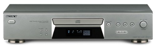 Sony CDP-XE270 S CD-Player silber