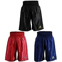 adidas Pantalones Cortos de Boxeo Entrenamiento de Boxeo, Unisex, Unisex Adulto, Color Negro, tamaño Medium
