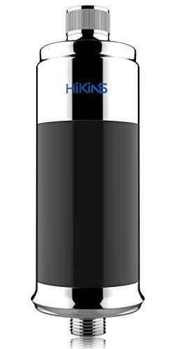 HiKiNS Filtro de ducha, suavizante de agua de 15 etapas, protege tu cabello y la piel, filtro de cabezal...
