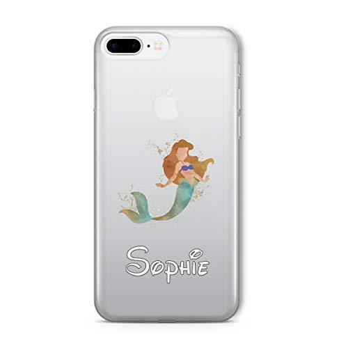 SmartGiftShop Zeichentrickfilm Disney PERSONALISIERTE ANGEPASST KLARE Hülle für iPhone Samsung - iPhone 5c - Arielle die Meerjungfrau