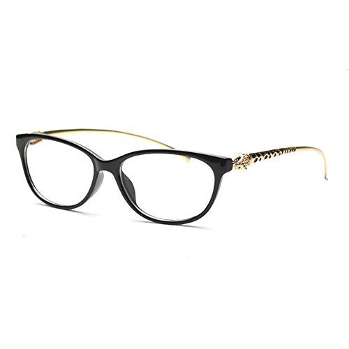 classic-luxury-leopard-head-cat-eye-women-glasses-alloy-frame-myopia-clear-lens-designer-plain-glass