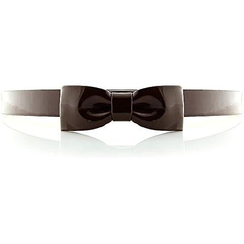 Correas de la manera de la señora/Cinturón de cuero de patente/Cinturón de arco Joker