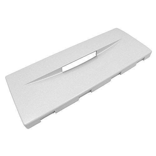 Indesit - Kühlschrank Gefrierschrank Schubladen Verkleidung Vorne / Deckel Klappe (Weiß)