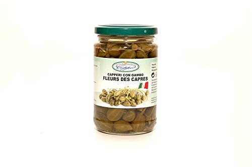 Coppo Specialità Alimentari -Capers with stem - in wine vinegar - (290gr)