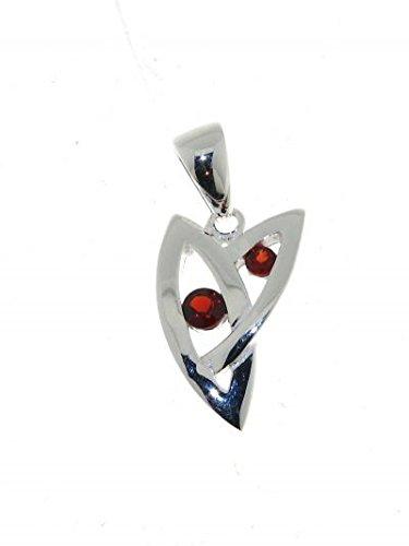 www.vuillermoz.fr Anhänger Sterling-Silber 925 Granat, Ref. 28140 Elektronik-Lötgerät