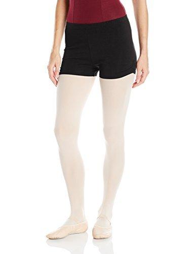 Capezio Damen-Shorts aus Baumwolle - Schwarz - X-Klein - Shorts Capezio Frauen
