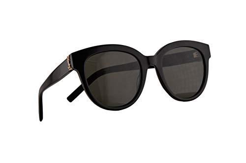 Saint Laurent SL M29 Sonnenbrille Schwarz Mit Grauen Gläsern 52mm 003 SLM29