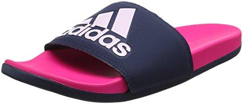 adidas Damen Adilette CF+ Logo Aqua Schuhe, Mehrfarbig (Shopin/Conavy/Aerpnk Cg3428), 37 EU