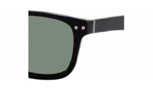 Polaroid Sunglasses U9353S Polarized Rectangular Sunglasses,Black,56 mm image