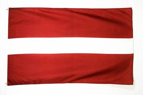 DRAPEAU LETTONIE 150x90cm - DRAPEAU LETTON 90 x 150 cm - DRAPEAUX - AZ FLAG