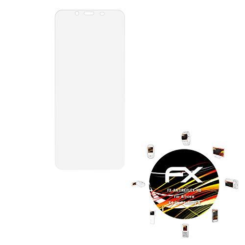 atFolix Schutzfolie kompatibel mit Allview X4 Soul Infinity N Bildschirmschutzfolie, HD-Entspiegelung FX Folie (3X)