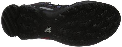 Adidas Schuhe Terrex Swift R Mid GTX Women - super purple Schwarz
