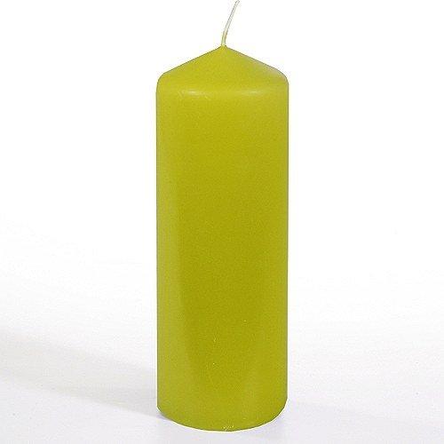 Kiwi Pillar Candle 20cm H