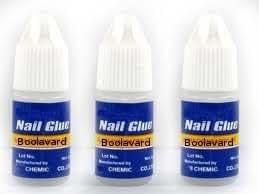 10 le gel UV acrylique faux de la colle d'ongle de 3g incline l'art d'ongle de Boolavard® TM