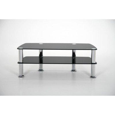 ABC Home Scandinavian Style Table télévision Noir/chromé