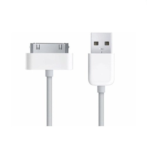 BisLinks® Sync Data/Charger USB Kabel Weißs iPod iPhone 3G/3GS/4/4S iPad OVP Oem Home Charger Usb