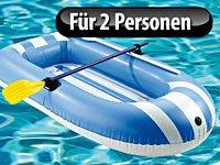 Speeron Kinder-Schlauchboot 180 x 90 cm inkl. 2 Paddel -