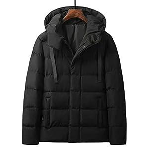DZX Elektrische Warme Kleidung Für Herren/Heizungsjacke , Mit USB-Kabel – Für Outdoor-Rennsport-Skifahren,Black-2XL