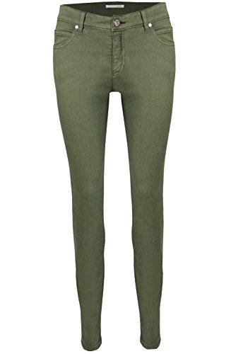 Oui - Jeans - Femme Kaki