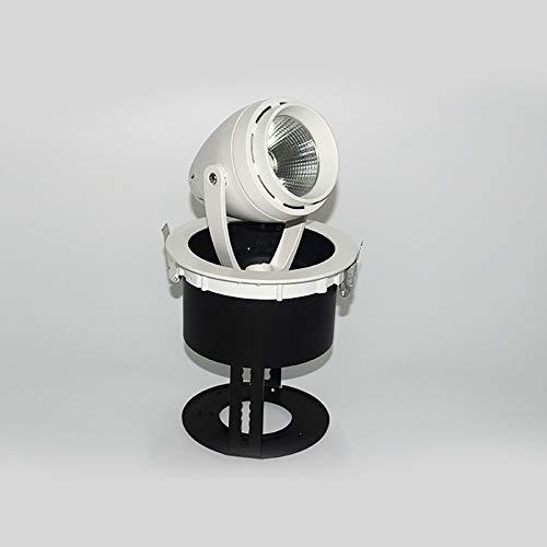 Qyyru Dimmbare 3W LED-Glühlampe 210lm 2700K - Warmweiß, 1er-Pack [Energieklasse A +] [Energieklasse A +] Deckeneinbau Twist & Lock Austauschbare COB-Beleuchtung für Aufputzmontage -