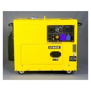 Kompak Silent Diesel 5000W DK6100SE Groupe électrogène silencieux professionnel