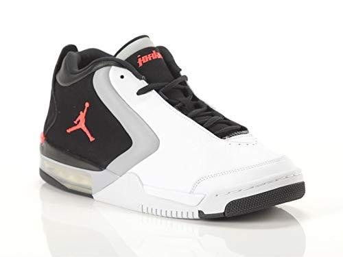Jordan Herren Big Fund Fitnessschuhe, Mehrfarbig (White/Infrared 23/Black/Lt Smoke Grey 000), 45 EU -