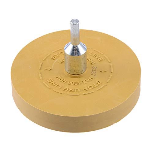 Leslaur Gummi Radiergummi Rad; Pneumatische Werkzeuge Luft Reifen Puffer Kleber Luft Die Grinder Rad für Bohrmaschine