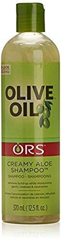 Organic Root Stimulator Shampoo Creamy Aloe 370 ml (Shampoo) (Stimulator Olive Relaxer Organic Oil Root)