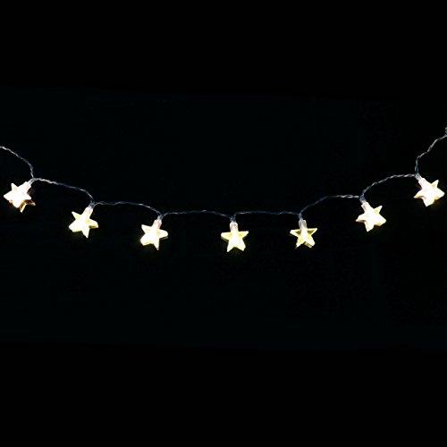 Lichterkette 20er LED warmweiß Stern Sternenlichterkette Weihnachten Batterie - 2