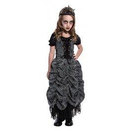 OFFIN PRINCESS HALLOWEEN FANCY DRESS COSTUME (Black Spider Girl Kostüme)