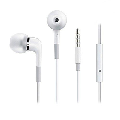 iversal Stereo inEar Headset mit 3,5mm Klinkenstecker für Blackberry Torch 9810 - Weiss ()