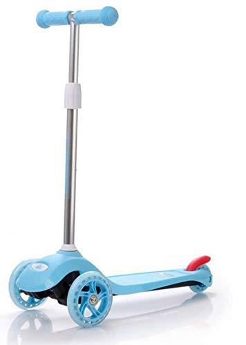 meteor® SHIFT Kinderroller: Dreiräder Scooter Big Wheel 120/80 sicher Kickscooter Tret-Roller Sitzscooter Große Plattform 3 Räder Kinderscooter kompatibel mit dem europäischen Sicherheitsstandard -