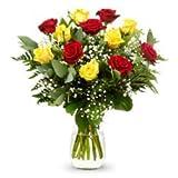 FACTORIA Flor.Ramo DE 12 Rosas Naturales