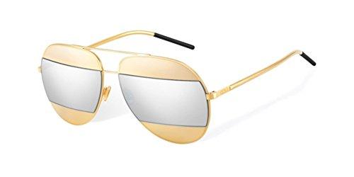 christian-dior-dior-split-1-pilot-tropfenformig-metall-damenbrillen-gold-gold-silver-mirror000-dc-59