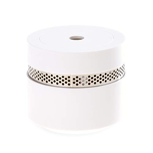 REV Mini Rauchmelder Design 2er Set - Feuermelder optisch ansprechend, dezent, klein und dennoch...