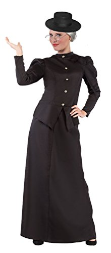 ,Karneval Klamotten' Kostüm Nanny Mary Poppins Dame Karneval Damenkostüm Größe (Für Mary Kostüme Erwachsene Poppins Halloween)