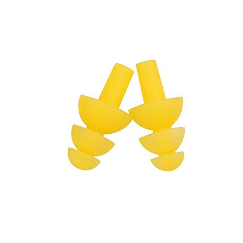 ZYHstore 1 Paar(2 Stück) Schwimmen Flexibler Silikon Ohrstöpsel Ohrenstöpsel Schwimmer Earplug Stöpsel