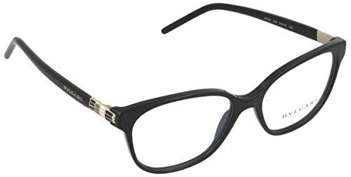 Bulgari Montures de lunettes Pour Femme 4105 - 501  Black - 54mm 2049afd5e133