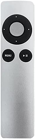 Smart Replacement Remote Control for Apple TV Mini Size TV Remote Controller Easy to Grab Silver