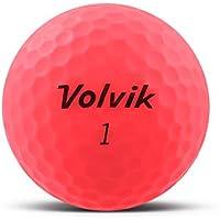 volvik Vivid pelota de golf Mate Rosa–Individual Impreso con su texto de O Logo, 48 Stk