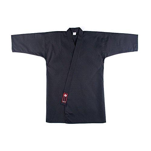 YariNoHanzo Iaido Gi Master 2.0 | Iaido Chaqueta Negro |