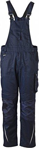 Preisvergleich Produktbild FaS50833 Herren Latzhose Arbeitshose Hose Herrenhose Workwear bei 60° waschbar,  Größe:58;Farbe:navy / navy