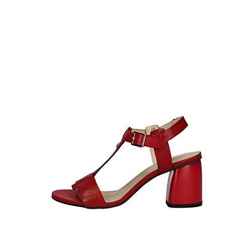 Nero Giardini Sandali Tacco Una Fascia Donna Rosso 39 Taglia Europea : 39 EU