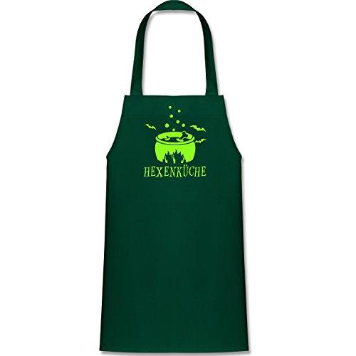 Shirtracer Kleine Köche & Bäcker - Hexenküche - 60 cm x 50 cm (H x B) - Grün - X978 - Kinder Kochschürze