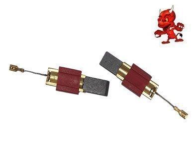 Kohlebürsten Motorkohlen passend für Miele W 3838, W 989 I, WS 5425,