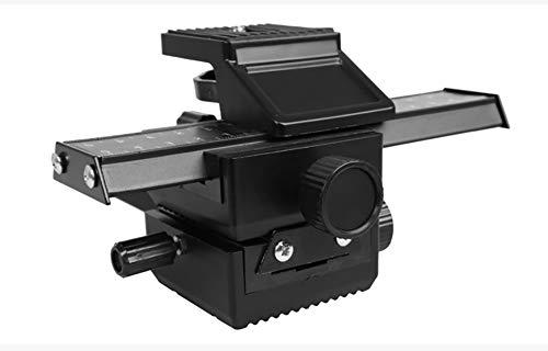 Thisiscry 4-Wege-Macro Fokussierung Schiene-Dilider Für Close-Up Shooting Für Canon Sony Pentax Nikon Olympus Samsung Und Andere